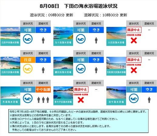 情報 下田 遊泳