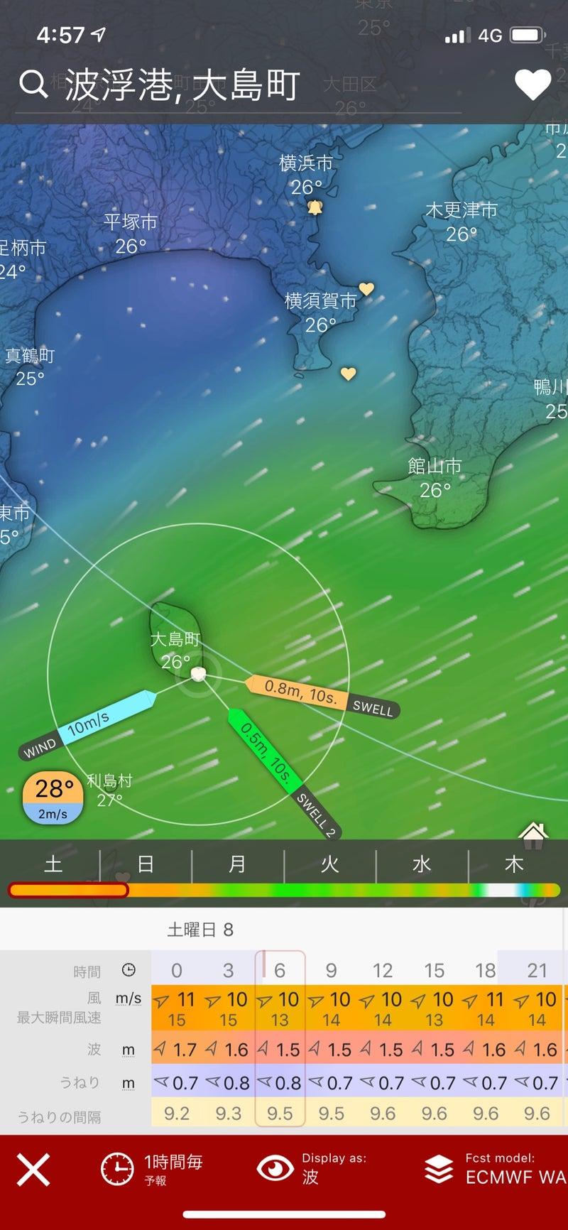 予報 湾 風 東京