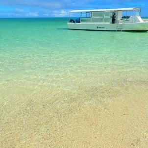 ビーチから行くか、船で行くか//サマードリーム石垣島日記の画像