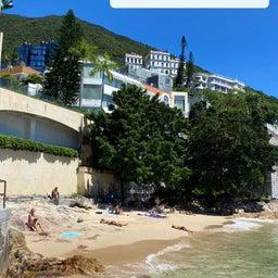 画像 香港のシークレットビーチで寛ぐ の記事より 2つ目