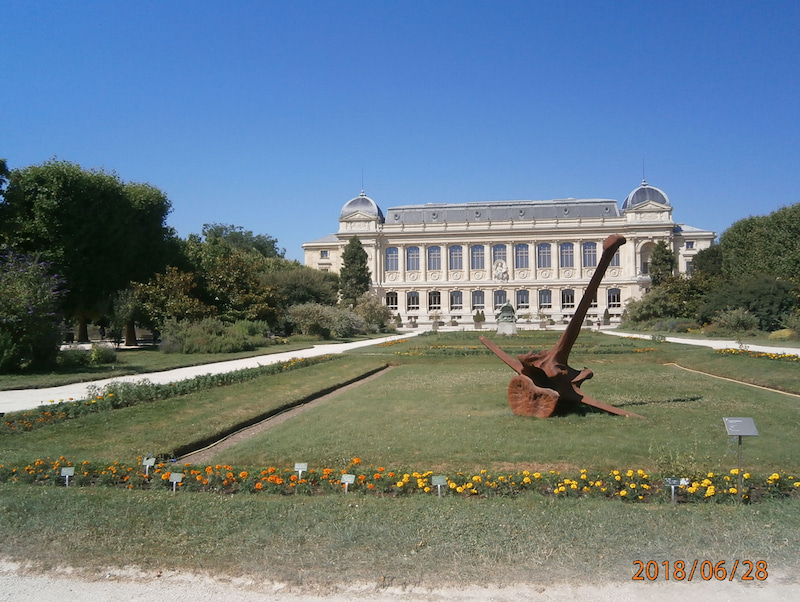 パリ植物園を抜けてオステルリッツ駅(13区)方面へ | PARISから ...