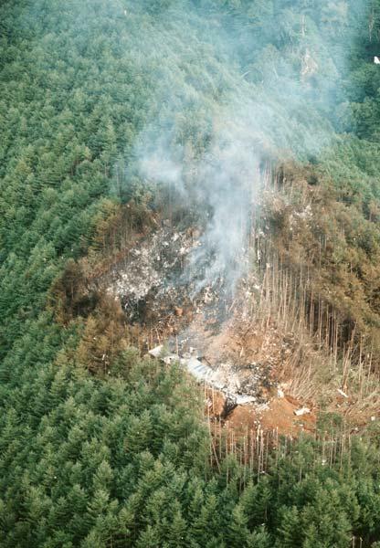 墜落 写真 機 日航 事故