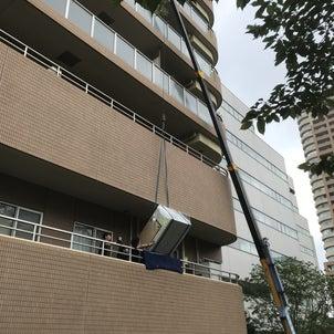 西早稲田ビルマルエアコン交換工事の画像