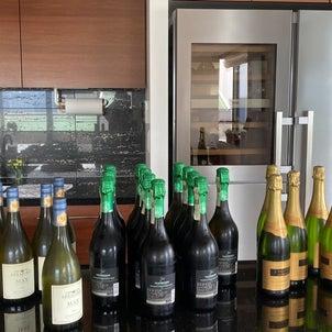 コロナ禍だからワインとプロセッコ大量購入の画像