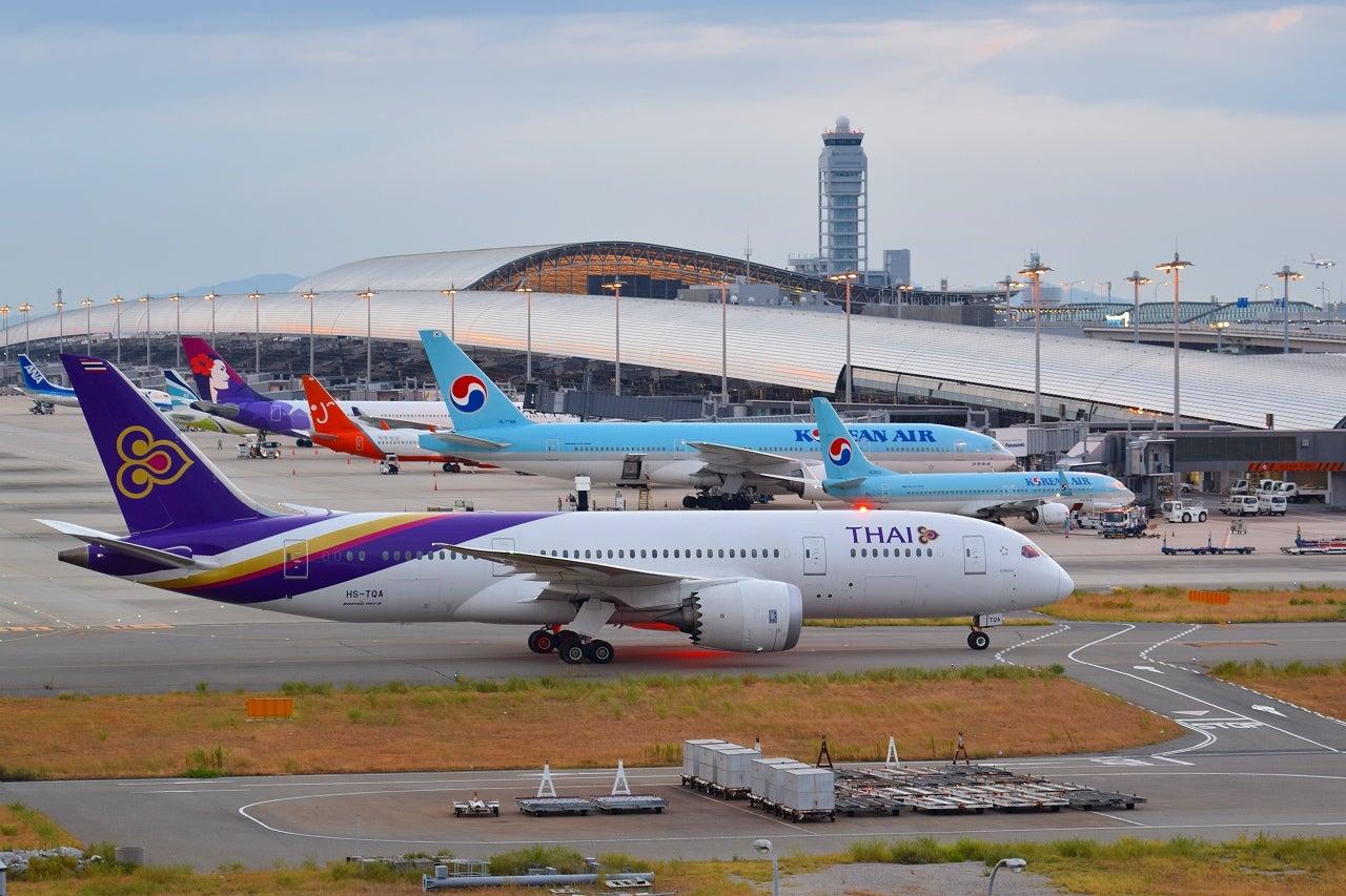 徒然 航空機撮影日記真夏の関西空港2016年(4)