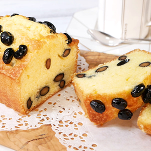 Daisoのパウンド型で作る黒豆のパウンドケーキの画像