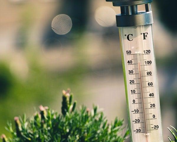 英語 温度 温度って英語でなんて言うの?