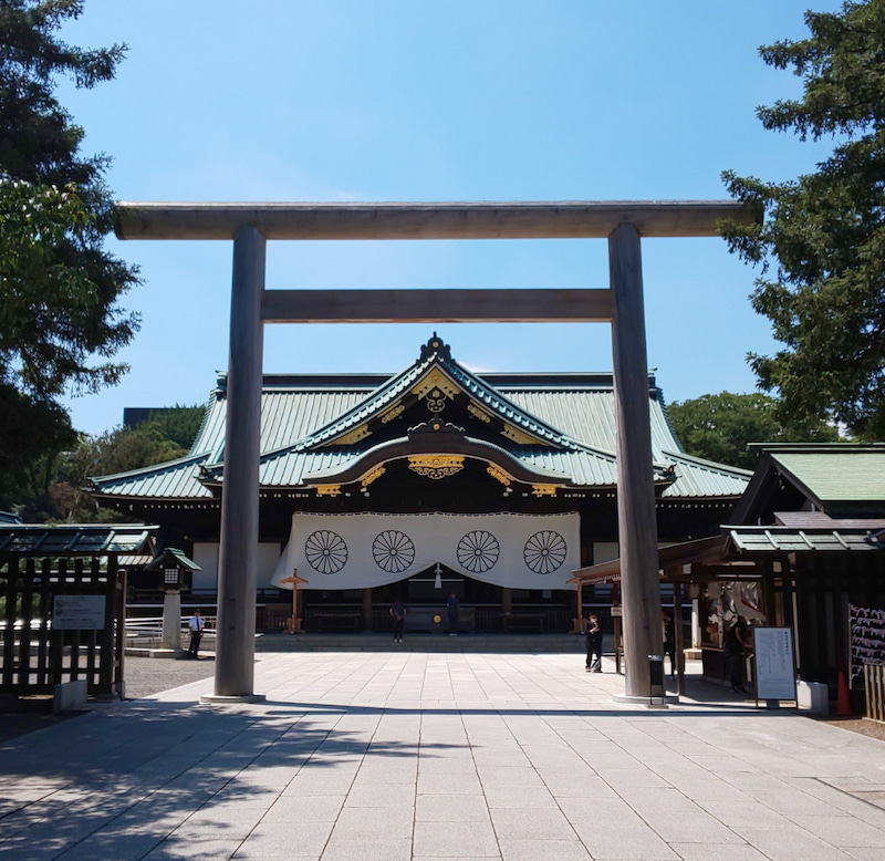 Masaru Yamo靖国神社 参拝   20200820