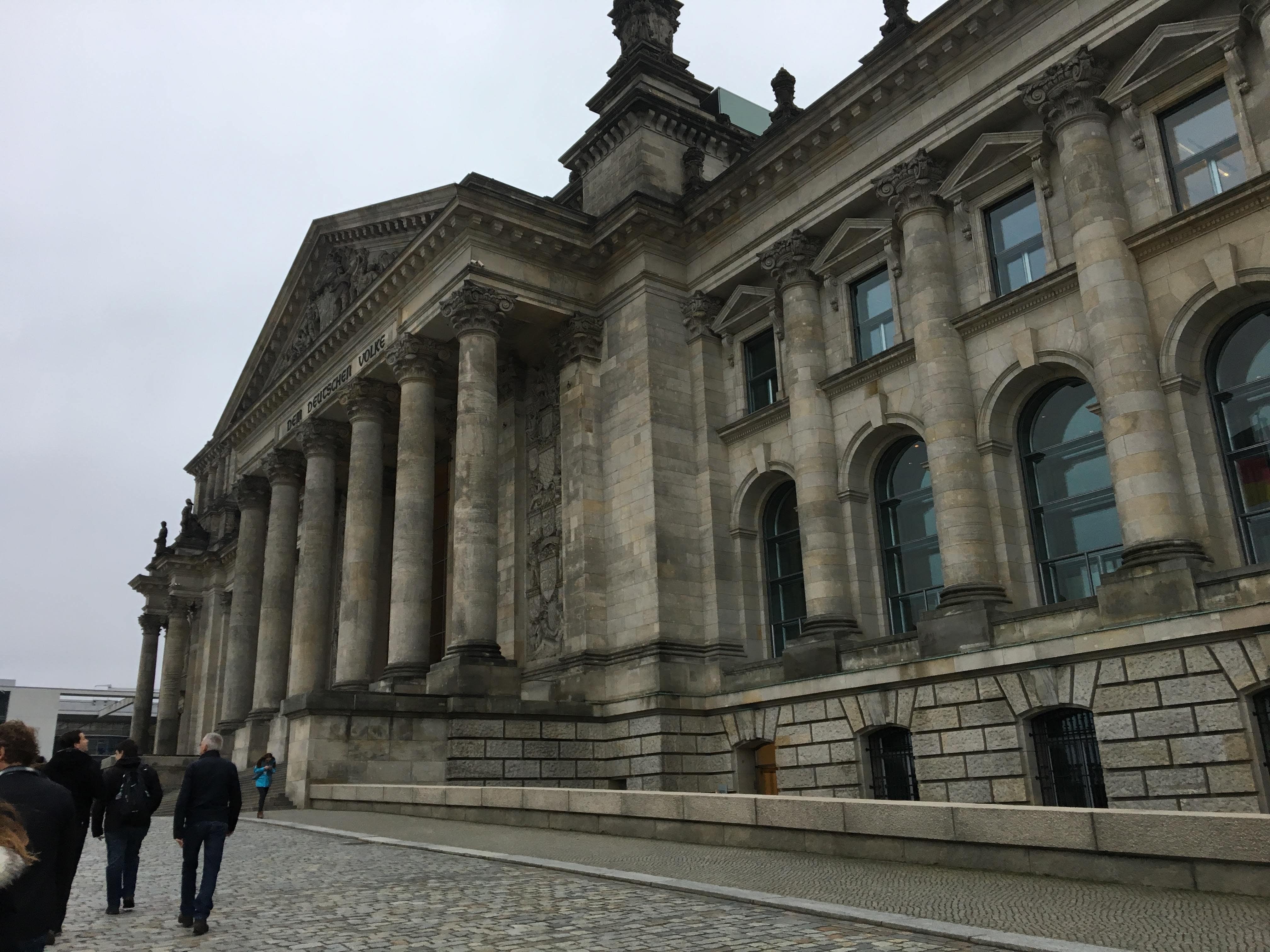 ドイツ・ベルリン 国会議事堂