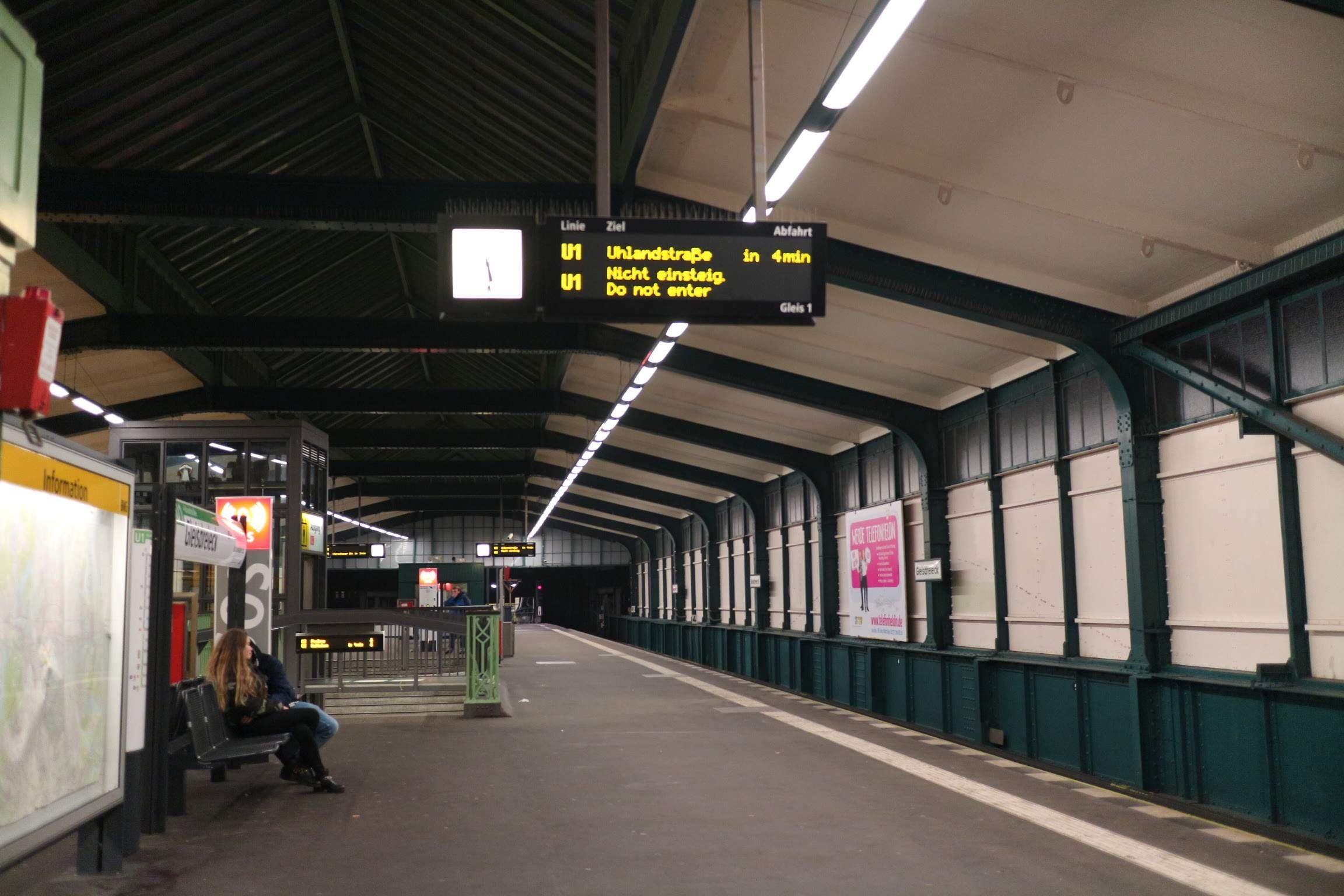 ドイツ・ベルリン 電車