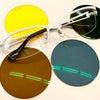 カラーで使い分け。運転用のメガネの画像