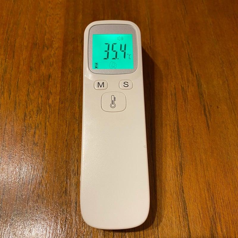 型 体温計 精度 非 接触