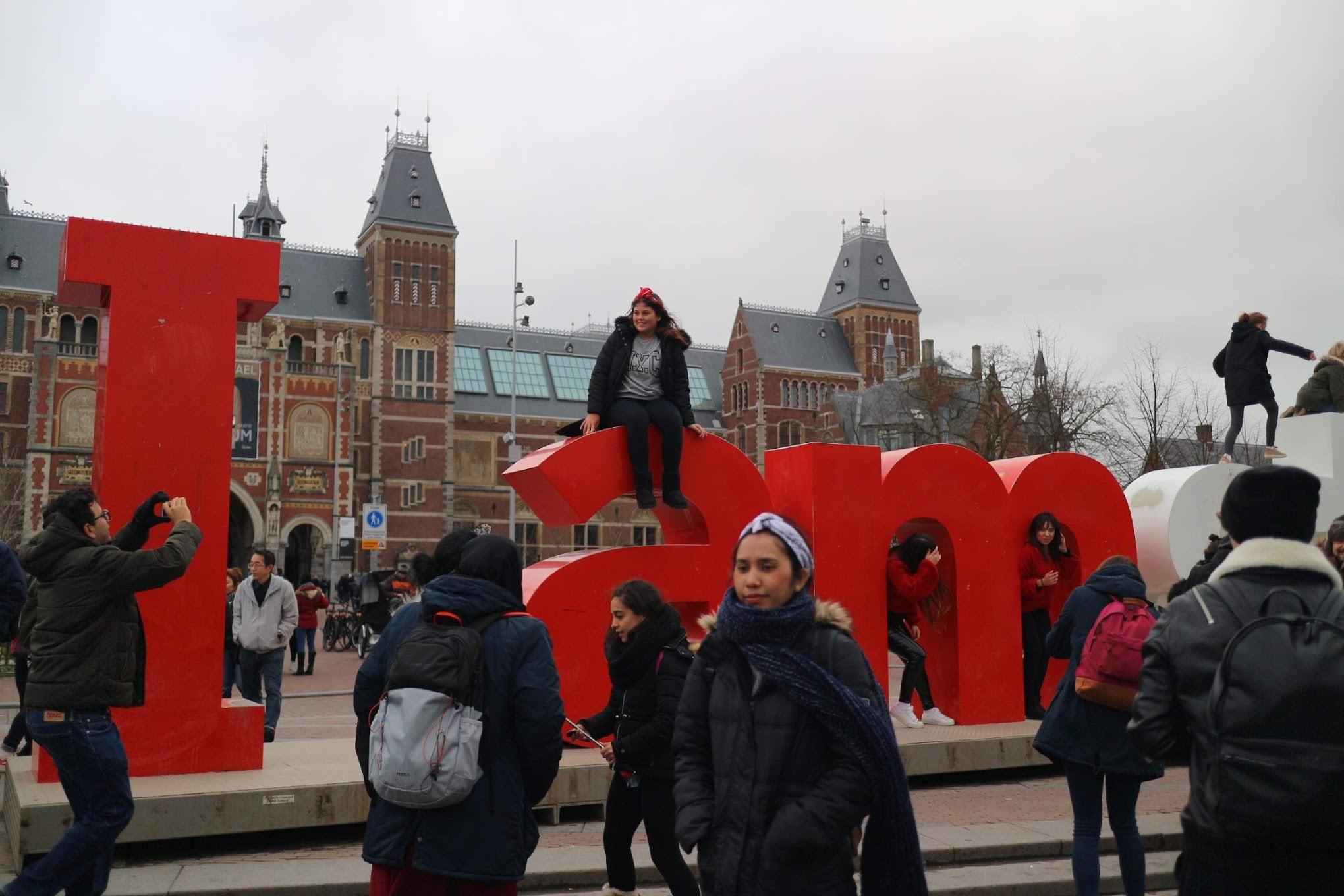 アムステルダム モニュメント