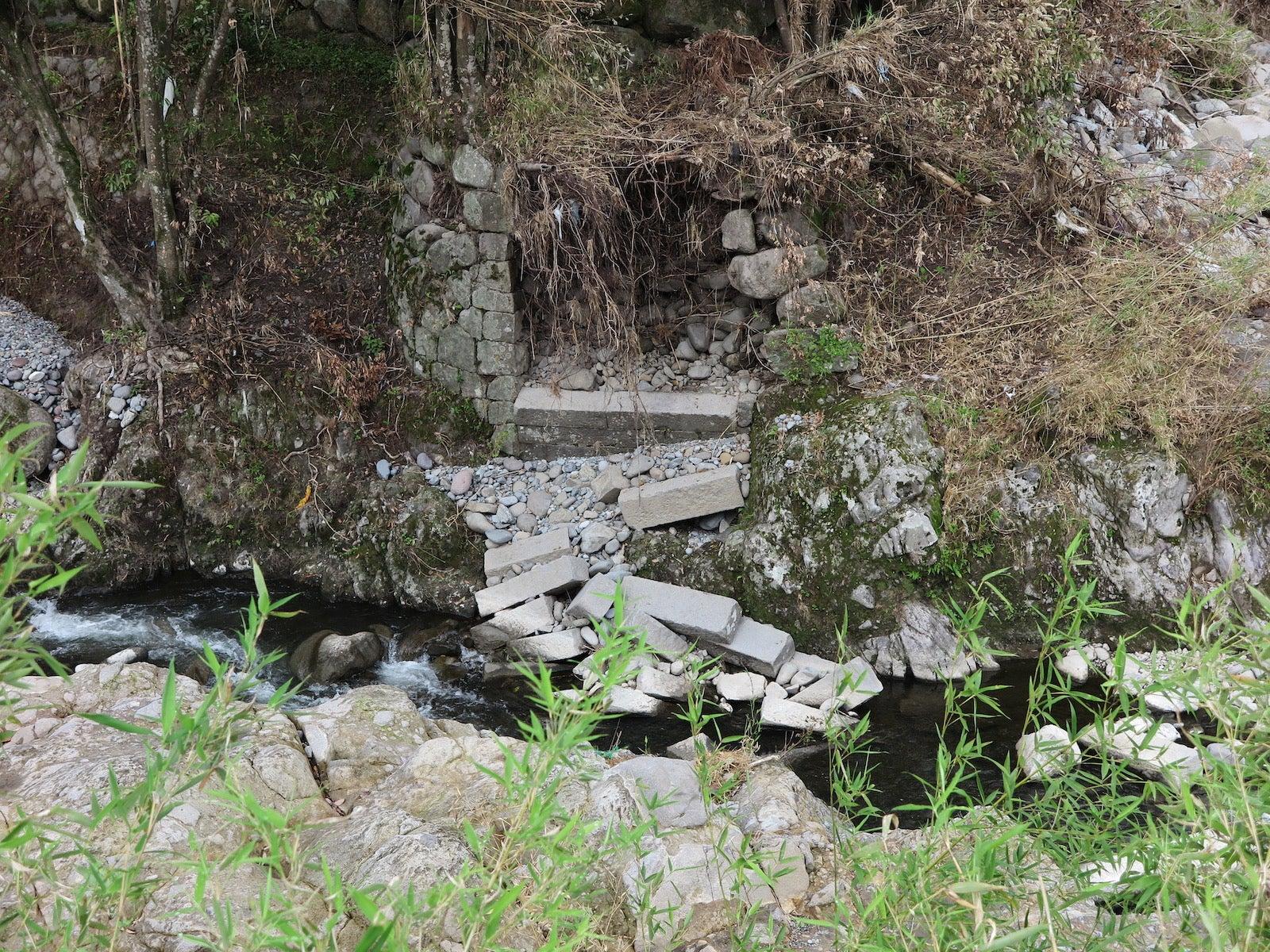 石橋/故・筏場眼鏡橋(大分県日田市)   たかしのコーヒーブレイク