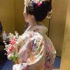結婚式出張ヘアメイクblog/ 目黒雅叙園の花嫁②の画像