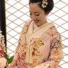 結婚式出張ヘアメイクblog/ 目黒雅叙園の花嫁③ お見送りスタイルの画像