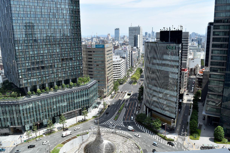JR名古屋駅ビルのスカイストリ-ト