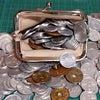 大量の硬貨(小銭)を銀行ATMで預け入れる(三菱東京UFJ銀行、ゆうちょ銀行)の画像
