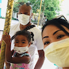 コロナウイルス状況下でのの画像