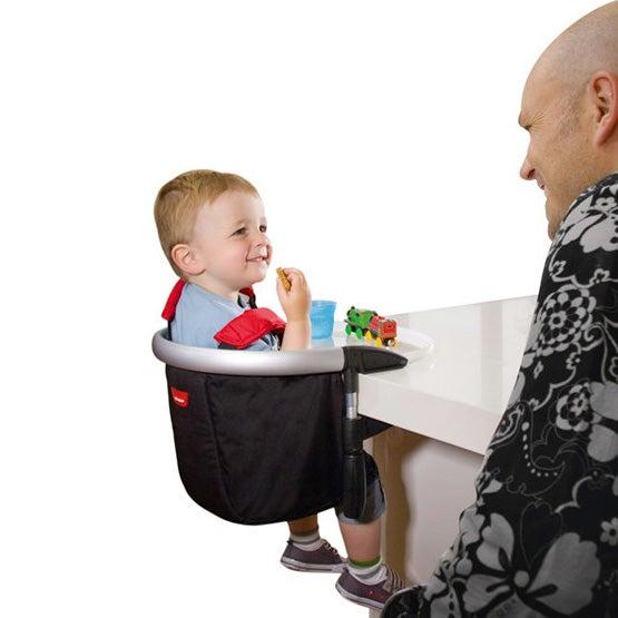 持ち運び出来て簡単に付けられる椅子(テーブルチェア)のご紹介☆