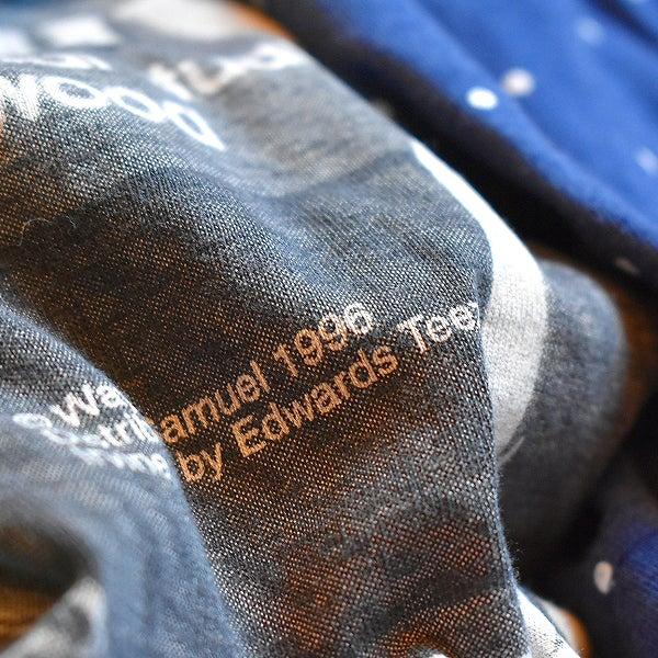 総柄ポルカドット半袖シャツ画像@古着屋カチカチ