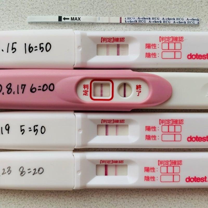 薬 陽性 生理 検査 予定 妊娠 日