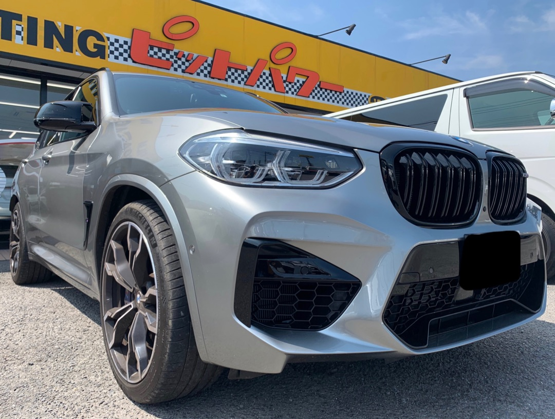 BMW X3M シルフィード断熱フィルムSC-7008施工
