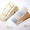 正絹西陣織帯地使用、オリジナル携帯用扇子ケース2020・全12種|白檀、黒檀、紫檀扇子などテグスの画像