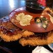 【福井県小浜市】はみ出すわらじかつ!ご当地ソースカツ丼をダブルで!!〜こだま食堂さん〜
