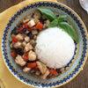 【鶏胸肉で作る!】彩りガパオの画像
