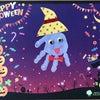 【10月の手形アート】手形オバケで♪ハッピーハロウィン♪の画像