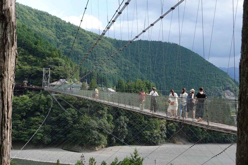 吊り橋 谷瀬 キャンプ の