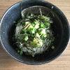 朝ごはんのアボカド丼の画像