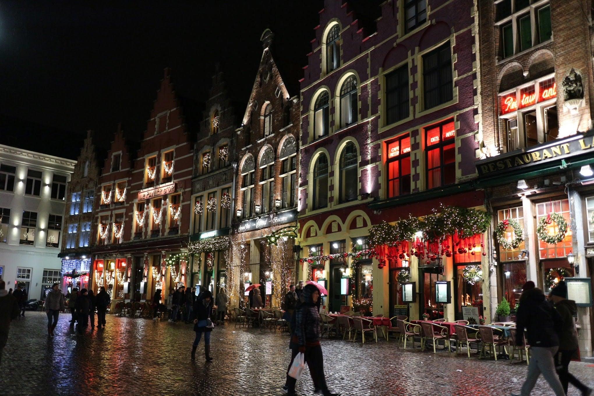 ベルギー・ブリュージュ「マルクト広場」
