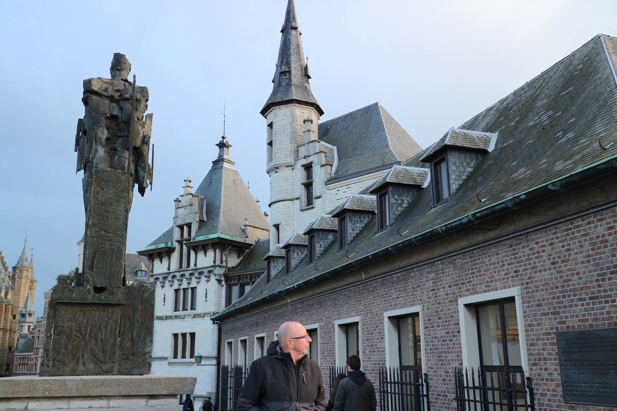 ベルギー・アントワープ「ステーン城」