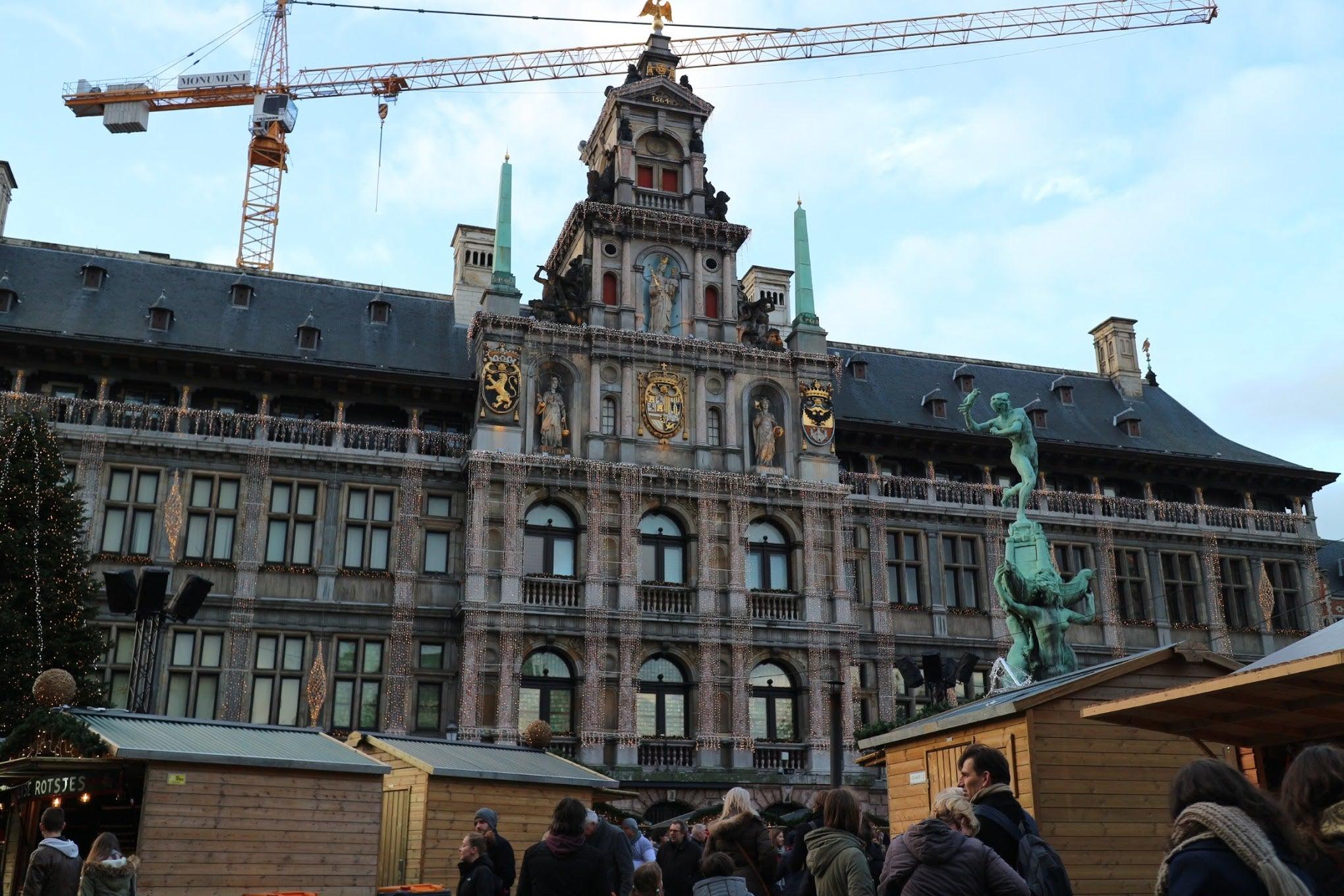 ベルギー・アントワープ市庁舎