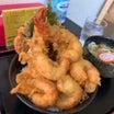 【富山県富山市】コスパ優秀なメガ盛り天丼を堪能!!〜氷見うどん・手打ちそば深味さん〜