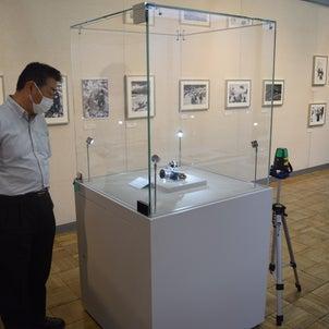 鎌田清衛写真展 開幕の画像