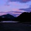 2020年9月4日 丹沢湖 赤富士の画像