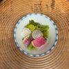 ろじうさぎの副菜 紅芯ダイコンと菜の花の和物の画像