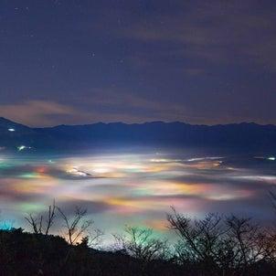初めて知った・・・【雲海夜景】!最高です(*^▽^*)の画像