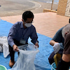 5月26日 基材の袋詰め作業の画像