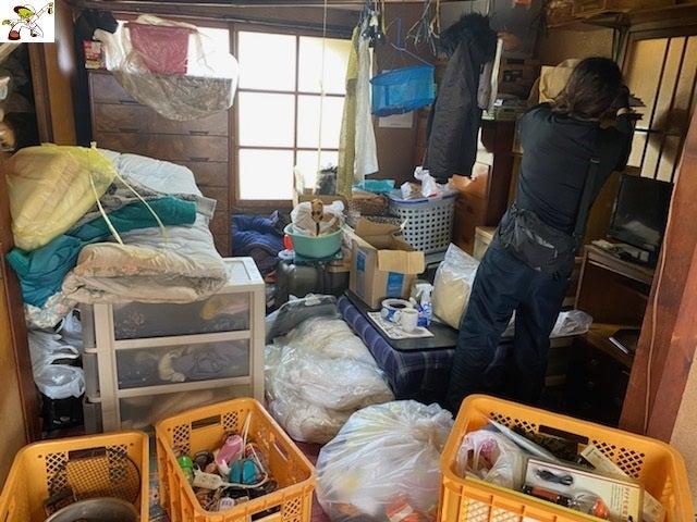 施設入居を切っ掛けに・・・「ビフォーアフター」名古屋市中心に生前整理