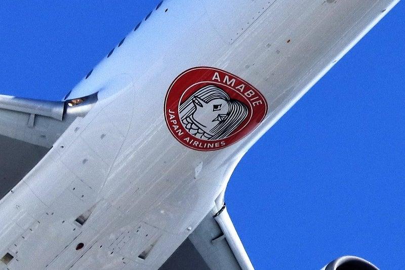 アマビエさまをデザインしたJALの特別塗装機「JALアマビエJET」が就航! | Let's begin!