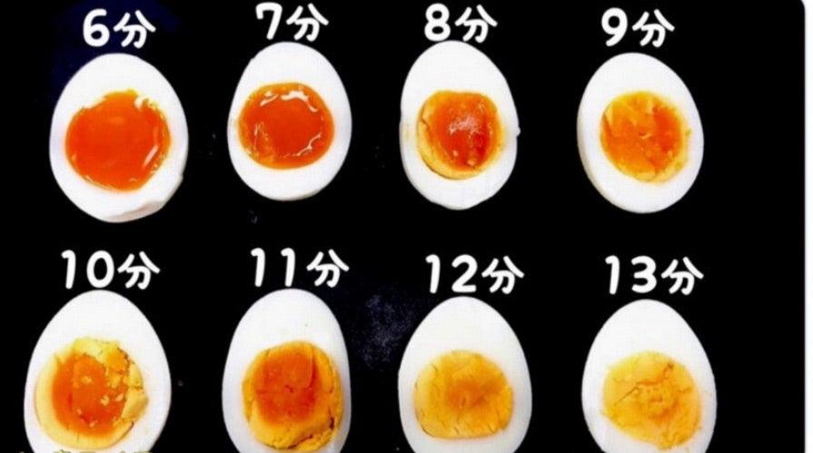 ゆで卵:南