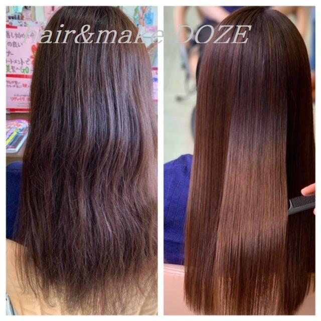 ずっとビビり毛を重ねていくか、ツヤサラの美髪になるか、
