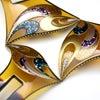 結婚披露宴、パーティーなど華やかな機会にお勧めな、美しいべっ甲螺鈿金蒔絵かんざし★制製動画ありの画像
