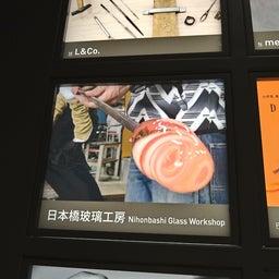 画像 東京トリップ 日本橋で吹きガラス の記事より 3つ目