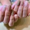 人気カラー♡3色ジェルネイル!の画像
