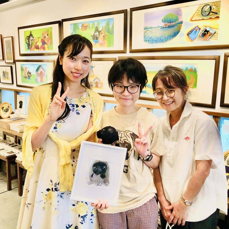 アマビエ・パグ完売!!絵本原画展「さすらいのルーロット」大絶賛開催中!
